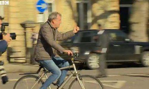 Велосипед помог похудеть Джереми Кларксону