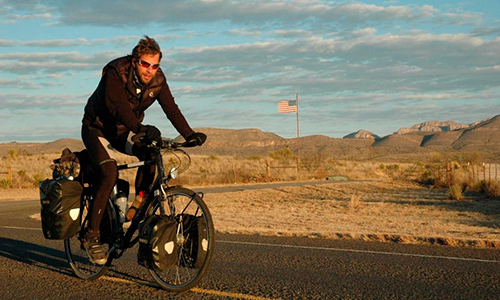 Новый мировой рекорд в кругосветном путешествии на велосипеде