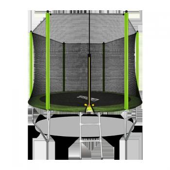 Батут Arland 10FT с внешней страховочной сеткой и лестницей