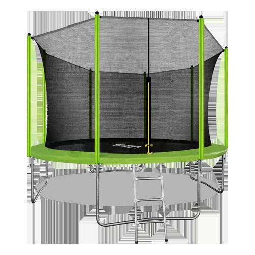 Батут Arland 12FT с внутренней страховочной сеткой и лестницей