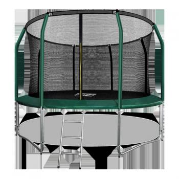 Батут Arland премиум 12FT с внутренней страховочной сеткой и лестницей