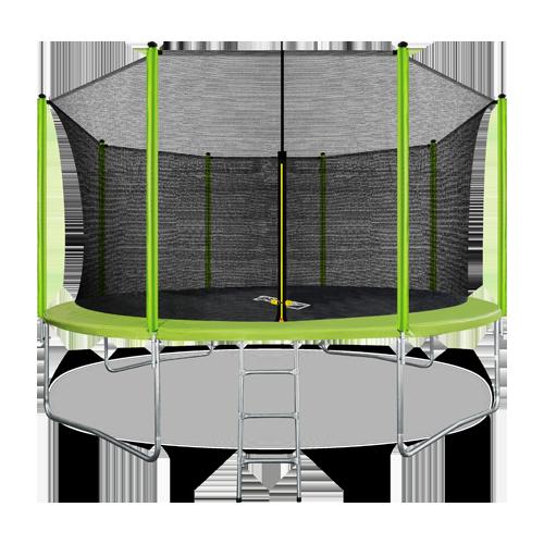 Батут Arland 14FT с внутренней страховочной сеткой и лестницей
