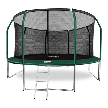 Батут Arland премиум 14FT с внутренней страховочной сеткой и лестницей