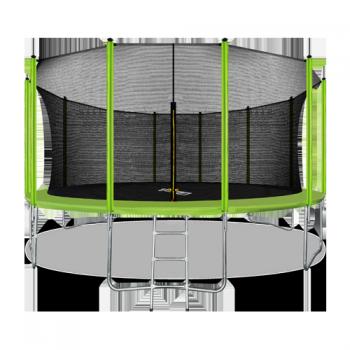 Батут Arland 16FT с внутренней страховочной сеткой и лестницей