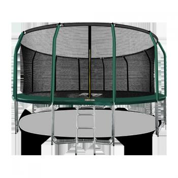 Батут Arland премиум 16FT с внутренней страховочной сеткой и лестницей