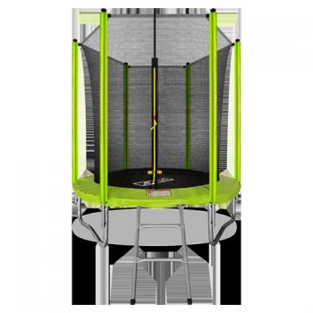 Батут Arland 6FT с внутренней страховочной сеткой и лестницей