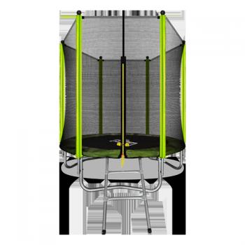 Батут Arland 6FT с внешней страховочной сеткой и лестницей