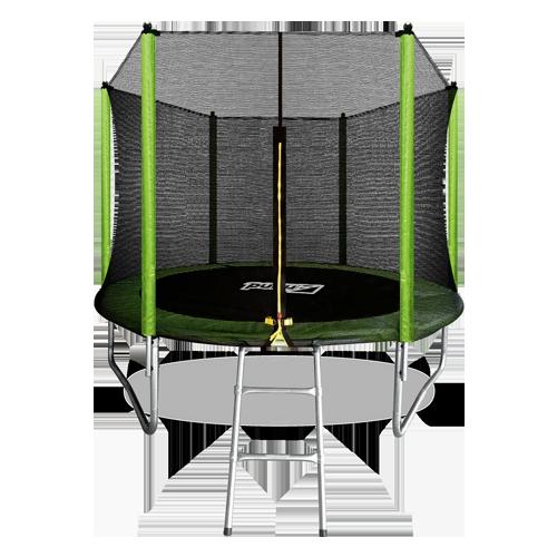 Батут Arland 8FT с внешней страховочной сеткой и лестницей