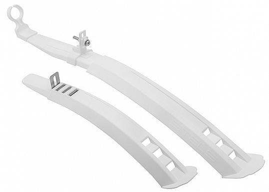 """Крылья 24""""-26"""" XH-B171 пластиковые белые, комплект в инд. упаковке"""