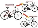 Виды рам велосипедов.