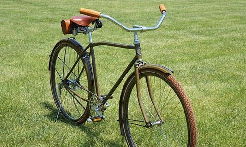 Harley-Davidson выпустил велосипед-реплику начала 20 века